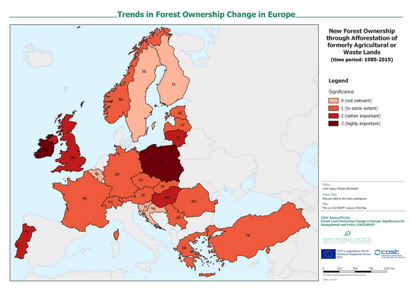 Forest Ownership Trend Assessment Maps